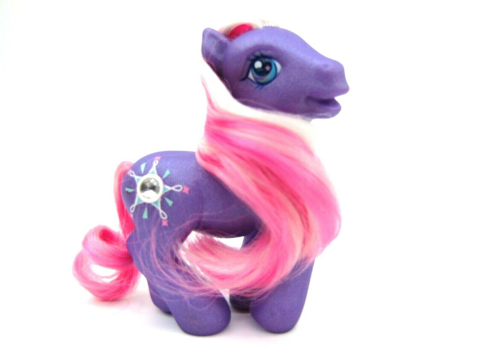 2004 My Little Pony Generation 3 Jewel Pony STAR DASHER Very NICE